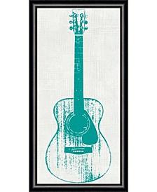 Guitar Collector I  Framed Art Print