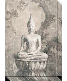 Amanti Art Buddha Neutral  Canvas Art Gallery Wrap