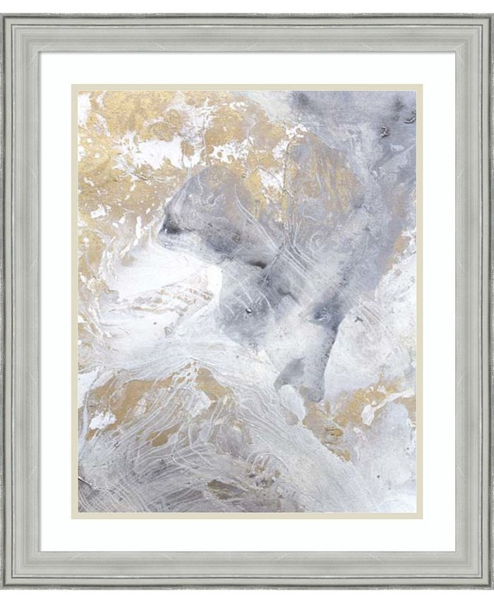 Amanti Art - Gold Fusion II 23x27 Framed Art Print