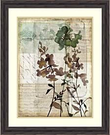 Music Box Floral II Framed Art Print