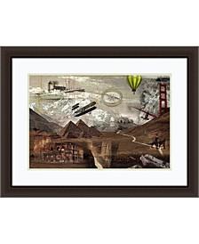 World Travel  Framed Art Print