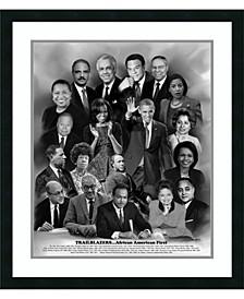 Trailblazers- African American First Framed Art Print