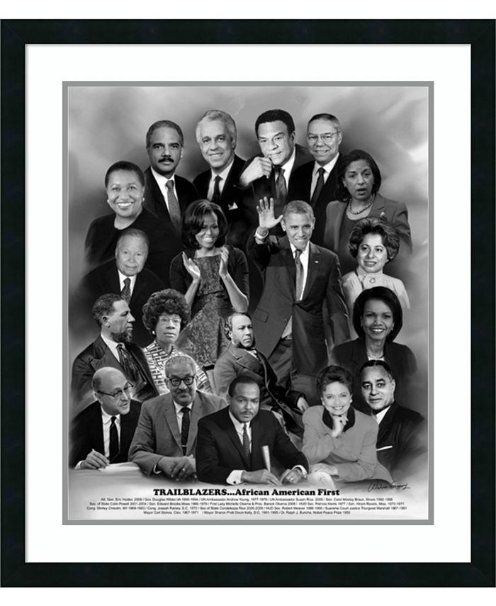 Amanti Art - Trailblazers- African American First 27x31 Framed Art Print