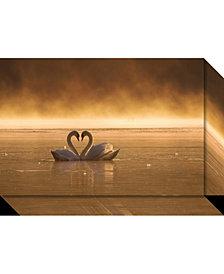 Amanti Art Lovers  Canvas Art Gallery Wrap