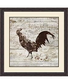 Amanti Art Rooster Framed Art Print