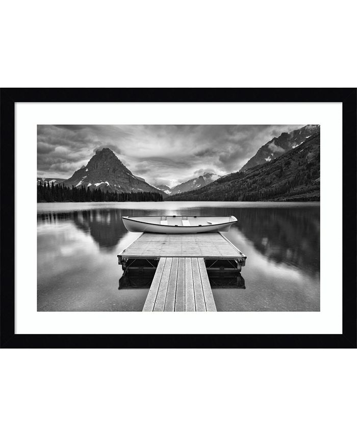 Amanti Art - Two Medicine Lake 22x16 Framed Art Print