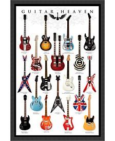 Amanti Art Guitar Heaven- Framed Art Print