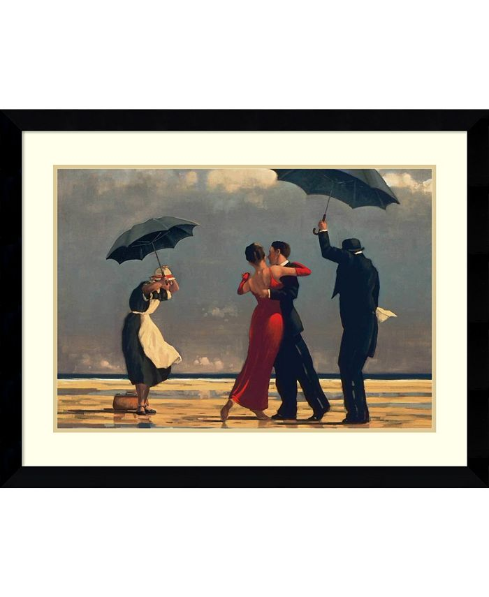 Amanti Art - The Singing Butler 38x27 Framed Art Print