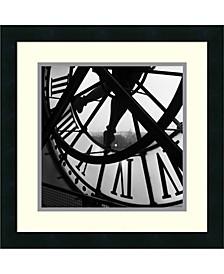 Orsay Clock Framed Art Print
