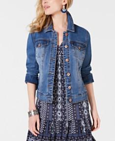 48a152ead4d Womens Denim Jackets: Shop Womens Denim Jackets - Macy's