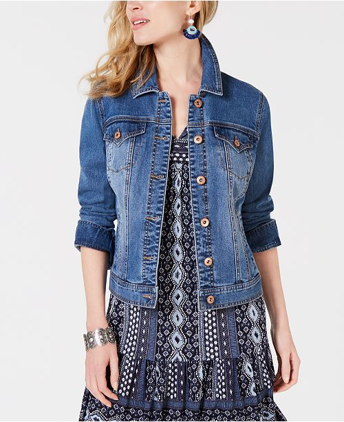 f88d0826c163e ... Style   Co Denim Jacket