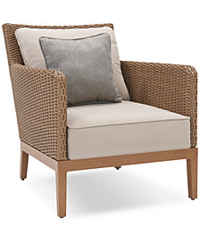 San Lazzaro Woven Outdoor Chair, Created For Macy's