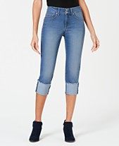 b68edd2e1c4cd Style & Co High Cuffed Capri Jeans, Created for Macy's