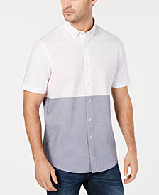 Club Room Men's Filmore Striped Shirt, Created for Macy's