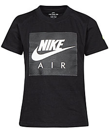 Nike Little Boys Air-Print Cotton T-Shirt
