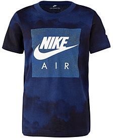 Nike Little Boys Cloud-Print Cotton T-Shirt