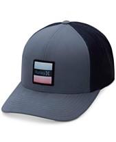 Hurley Men s Bayside Colorblocked Snapback Hat c123dcc0dff2