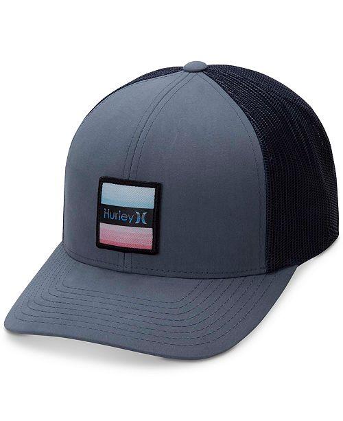 Hurley Men s Bayside Colorblocked Snapback Hat - Hats 938e3ab0f12f