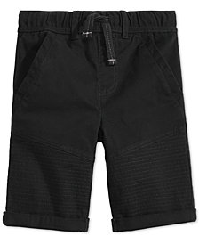 Epic Threads Toddler Boys Moto Twill Shorts, Created for Macy's