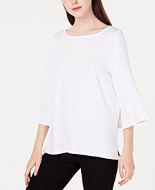 Eileen Fisher Bell-Sleeve Top