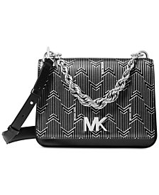 MICHAEL Michael Kors Mott Metallic Deco Chain Swing Shoulder Bag