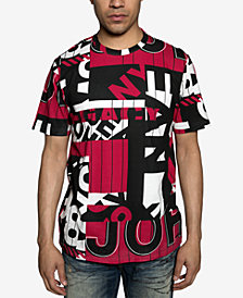 Sean John Mens Racing Max Graphic T-Shirt