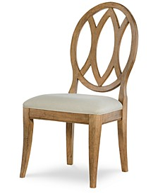 Rachael Ray Everyday Dining Oval Back Side Chair