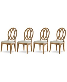 Rachael Ray Everyday Dining, 4-Pc. Set (4 Oval Back Side Chairs)