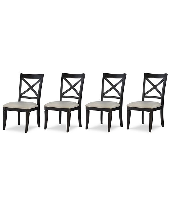 Furniture Rachael Ray Everyday Dining, 4-Pc. Set (4 X-Back Side Chairs)