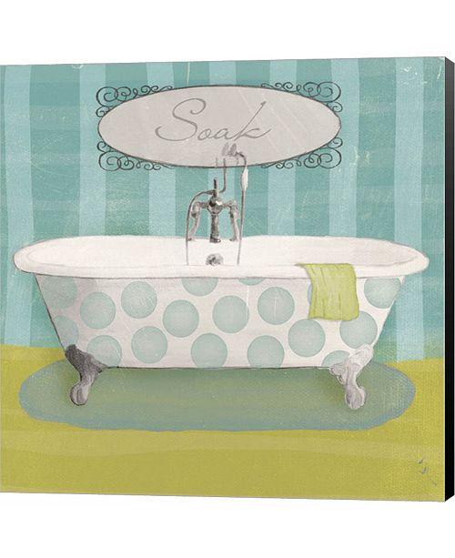Metaverse Polka Tub II by Sarah Adams Canvas Art