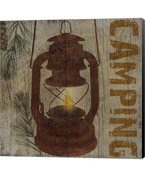 Metaverse Camping by Beth Albert Canvas Art