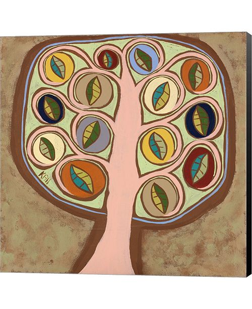 Metaverse The Calming Tree 3 by Cynthia Coulter Canvas Art