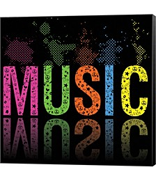 Music 2 by Louise Carey Canvas Art