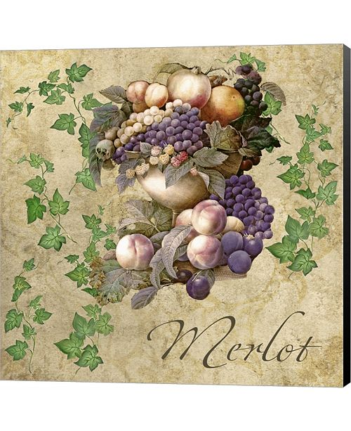 Metaverse Merlot by Mindy Sommers Canvas Art