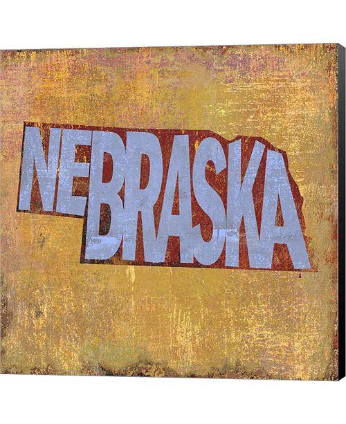 Metaverse Nebraska by Art Licensing Studio Canvas Art