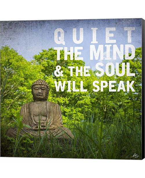 Metaverse Quiet the Mind by Kimberly Glover Canvas Art