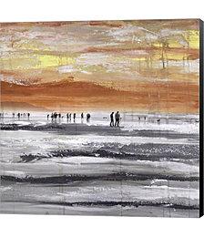 Beach II by Clara Summer Canvas Art