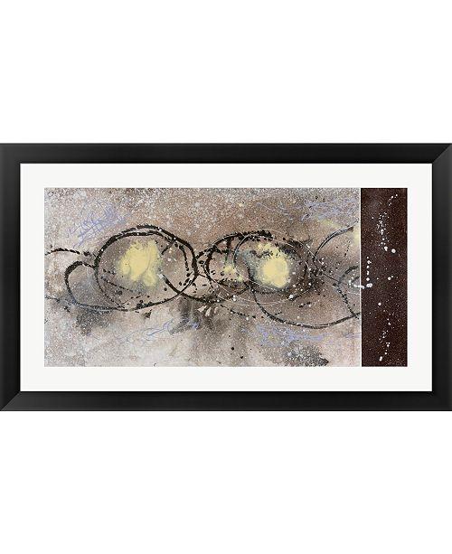 Metaverse Stargazing I by Pamela A. Johnson Framed Art