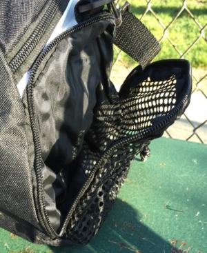 Franklin Sports Jr. Size Black Equipment Bag