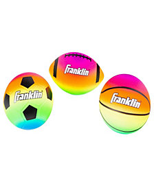 Franklin Sports Micro Vibe Balls 3 Pack
