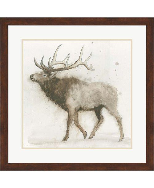 Metaverse Elk by James Wiens Framed Art