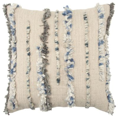 """20"""" x 20"""" Vertical Stripe Poly Filled Pillow"""