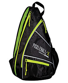 Pickleball-X Elite Performance Sling Bag - Official Bag Of The Us Open (Black/Optic Yellow)