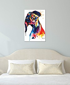 """""""Dachshund"""" by Weekday Best Gallery-Wrapped Canvas Print"""