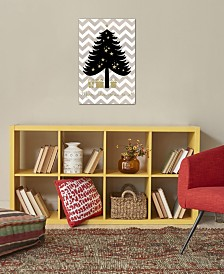 "iCanvas ""Christmas Tree"" by Erin Clark Gallery-Wrapped Canvas Print"