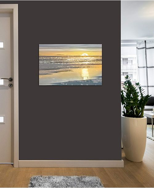 """iCanvas """"That Sunset Moment"""" by Kate Carrigan Gallery-Wrapped Canvas Print"""