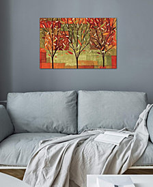 "iCanvas ""Watercolor Forest II "" by Veronique Gallery-Wrapped Canvas Print (26 x 40 x 0.75)"