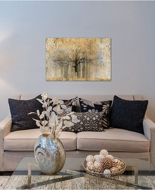 """iCanvas """"Open Arms Of Gold I"""" by Avery Tillmon Gallery-Wrapped Canvas Print (26 x 40 x 0.75)"""