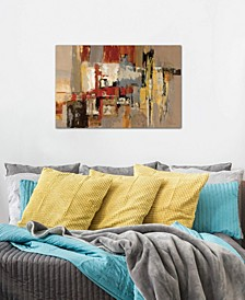 """""""Melody for Guitar and Sax """" by Silvia Vassileva Gallery-Wrapped Canvas Print (18 x 26 x 0.75)"""
