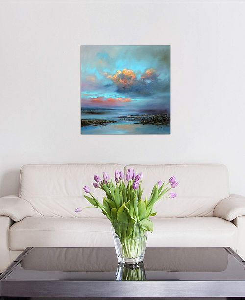 """iCanvas """"Hebridean Light I"""" by Scott Naismith Gallery-Wrapped Canvas Print (26 x 26 x 0.75)"""